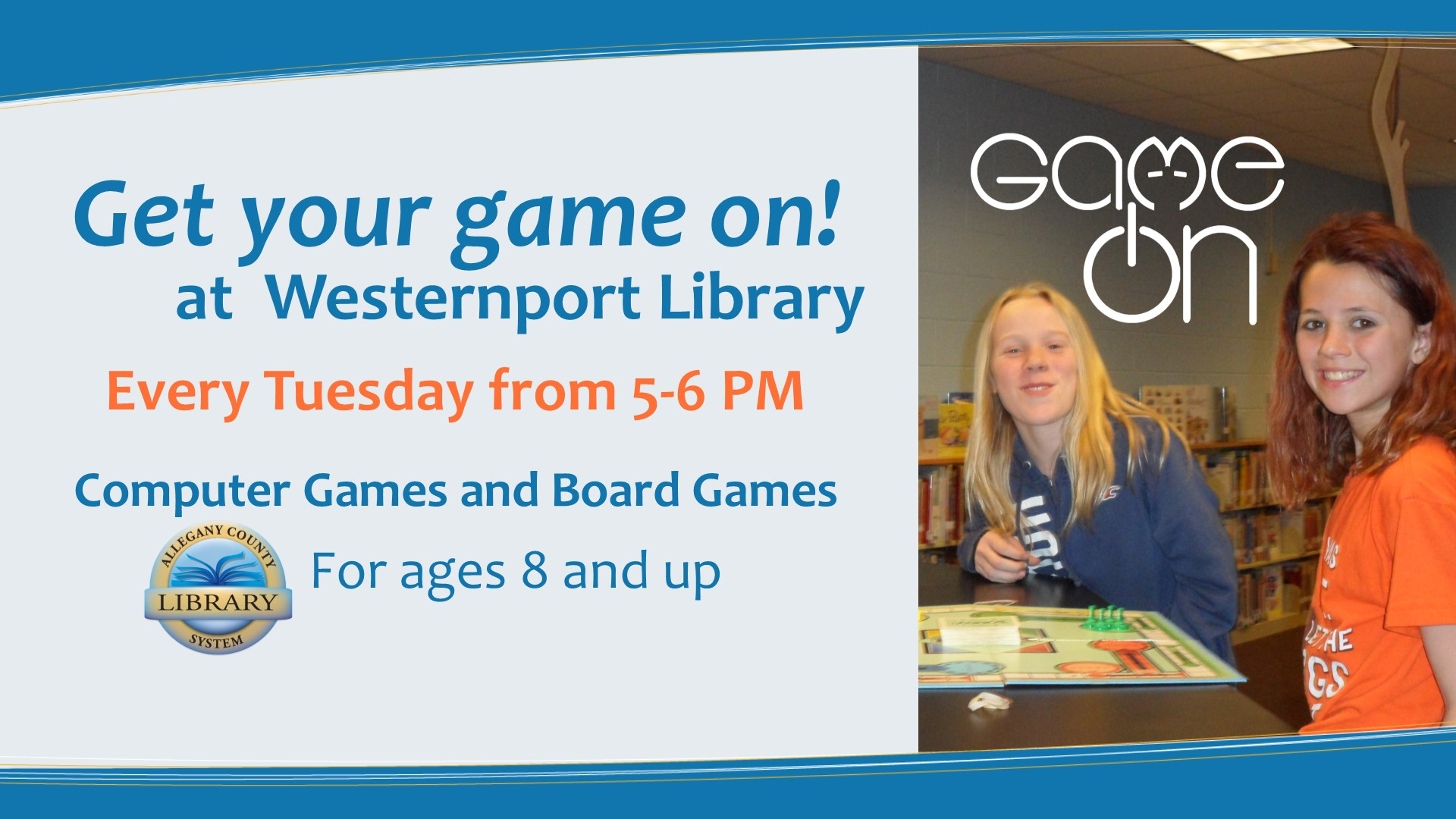 Get your game on at the Westernport Library