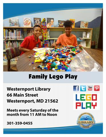 Westernport Family Lego Play Flyer