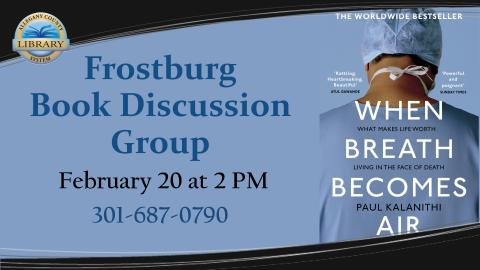 Frostburg Book Discussion Flyer