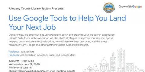 Use Google Tools to Help Land Your Next Job